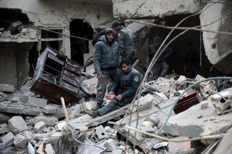 Canh tan hoang o thu do Damascus trong chien tranh - Anh 6