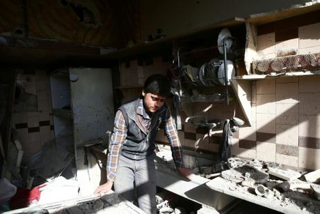 Canh tan hoang o thu do Damascus trong chien tranh - Anh 7