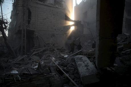 Canh tan hoang o thu do Damascus trong chien tranh - Anh 8