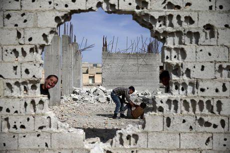 Canh tan hoang o thu do Damascus trong chien tranh - Anh 9