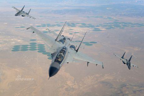 Ngoan muc tiem kich Su-30 ha canh tren duong cao toc - Anh 2