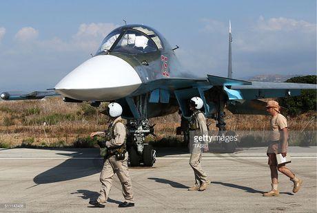 Khong kich cuong do cao o Syria, Su-34 troc ca son - Anh 4