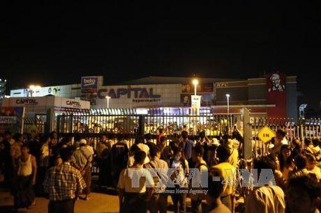 Hang loat vu no o Yangon, Myanmar - Anh 1