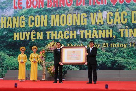 Hang Con Moong don bang cong nhan Di tich Quoc gia dac biet - Anh 1
