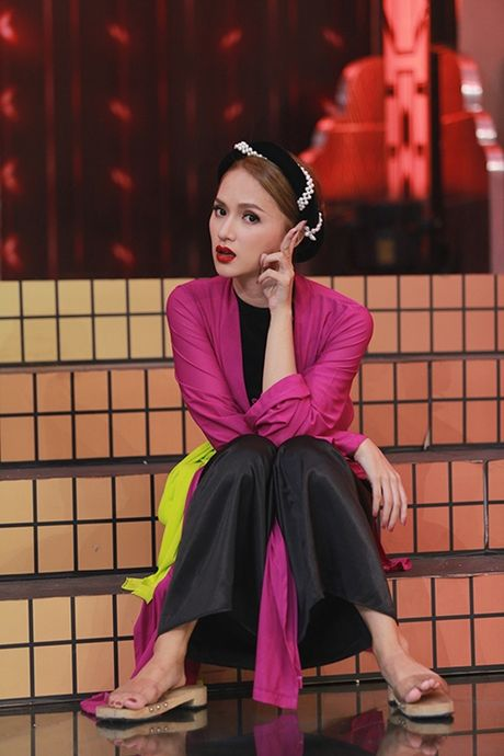 Huong Giang idol ngang nhien 'to' co bau voi Tran Thanh - Anh 1