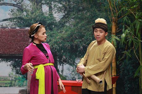 Huong Giang idol ngang nhien 'to' co bau voi Tran Thanh - Anh 3
