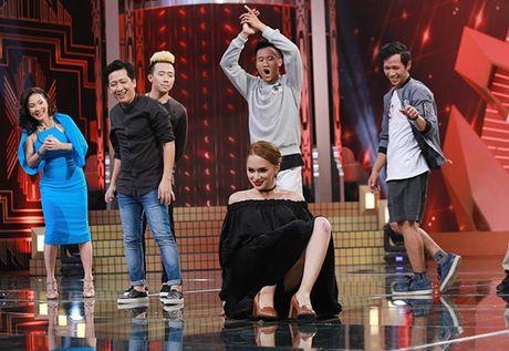 Huong Giang idol ngang nhien 'to' co bau voi Tran Thanh - Anh 7