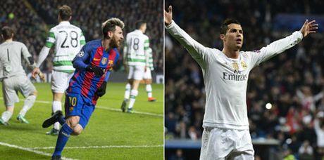 Toa sang truoc Celtic, Messi ap sat ky luc cua Ronaldo - Anh 1