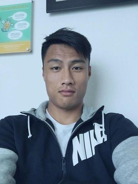 Mac Hong Quan pho phac, sut 2kg khi Ky Han sinh con trai - Anh 2