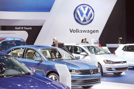 Volkswagen guong day sau khung hoang - Anh 1