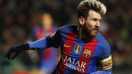 Messi ap dao trong cuoc dua vua pha luoi Champions League - Anh 1