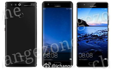 Huawei P10 lo dien voi he thong quet van tay sieu am - Anh 1