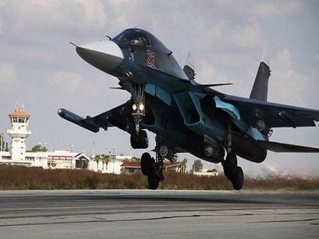 Khong quan Nga-Syria pha huy trai huan luyen lon nhat cua IS o Homs - Anh 1