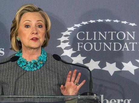Ba Hillary that bai, Australia ngung quyen tien cho Quy Clinton - Anh 1