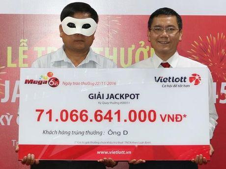 Vietlott da tra thuong hon 200 ty cho nguoi trung doc dac qua Viettinbank - Anh 1