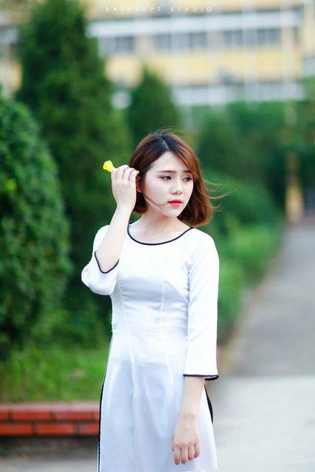 Truong Bach Diep, hot girl xinh dep hut hon cu dan mang - Anh 1