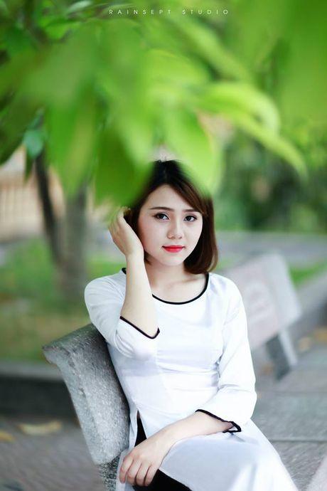 Truong Bach Diep, hot girl xinh dep hut hon cu dan mang - Anh 2