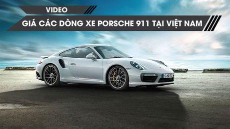 Gia ban 14 phien ban mau xe Porsche 911 huyen thoai tai Viet Nam - Anh 1
