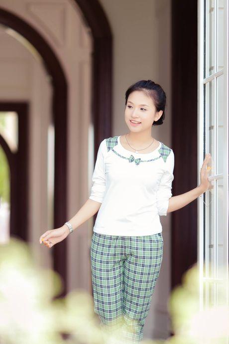 Ngam Thanh Van Hugo xinh dep tu thuo moi vao nghe - Anh 3