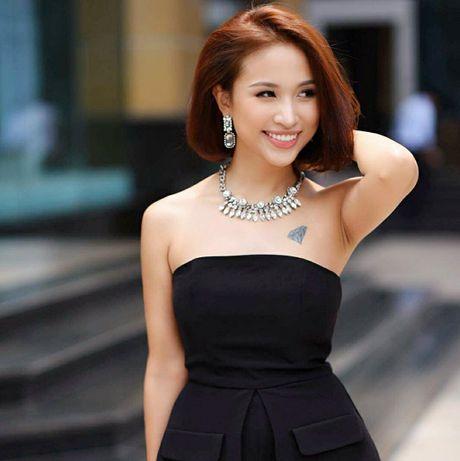 Ngam Thanh Van Hugo xinh dep tu thuo moi vao nghe - Anh 5