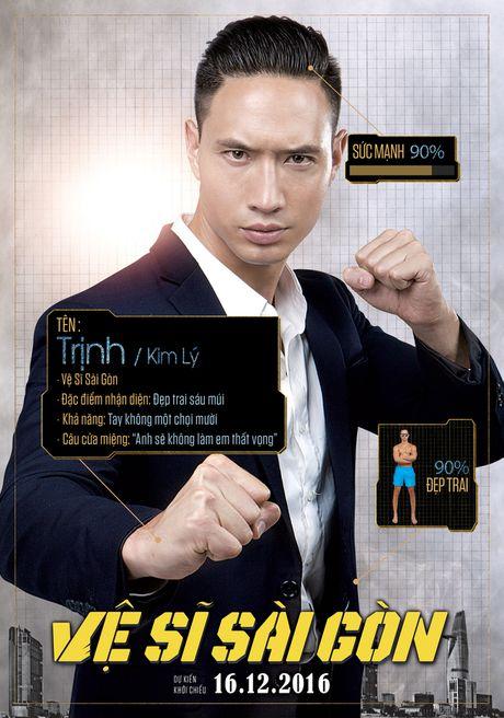 Xuat hien poster Chi Pu 'da xinh lai con thong minh' - Anh 2