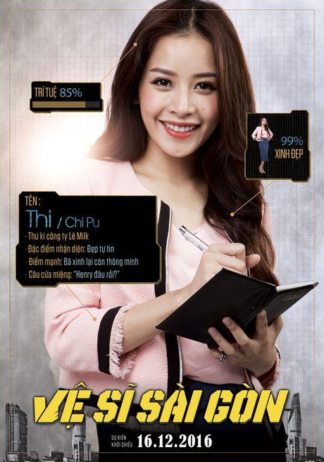 Xuat hien poster Chi Pu 'da xinh lai con thong minh' - Anh 3