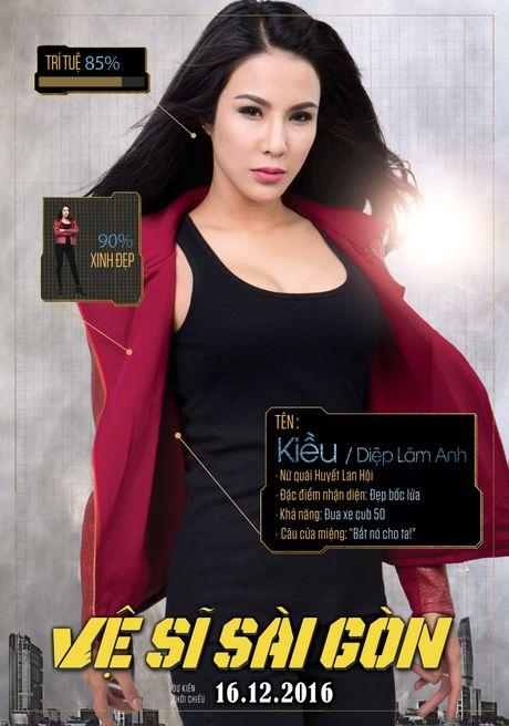 Xuat hien poster Chi Pu 'da xinh lai con thong minh' - Anh 5