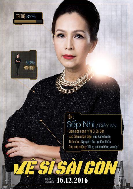 Xuat hien poster Chi Pu 'da xinh lai con thong minh' - Anh 7
