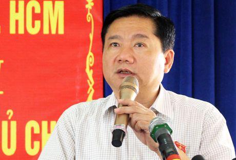 Ong Dinh La Thang: 'Ngan sach bi cat giam se anh huong lon den TP HCM' - Anh 1