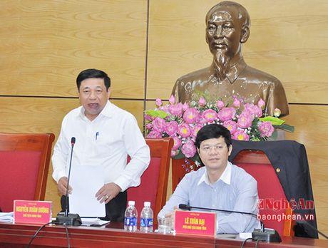 Nam 2017: Bo Tai chinh giao Nghe An thu ngan sach 10.587 ty dong - Anh 2