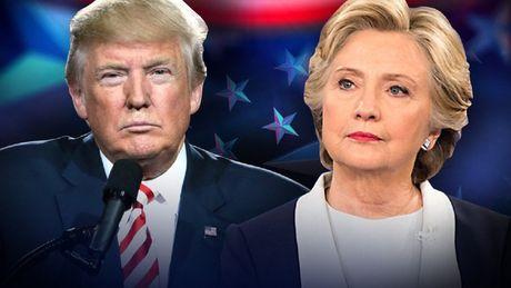 Cang kiem dem, ba Clinton cang hon ong Trump phieu pho thong - Anh 1
