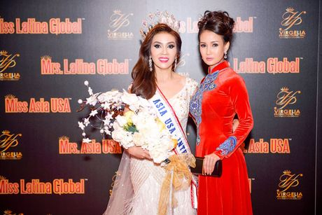 Hoa hau Suong Dang lam giam khao cuoc thi sac dep nuoc ngoai - Anh 8