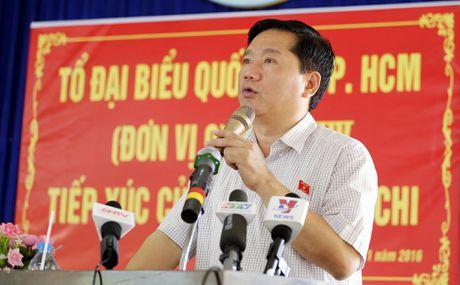 Cu tri phan anh voi Bi thu Dinh La Thang: Vo liet si tai gia can bo, che do cao hon dan thuong - Anh 1