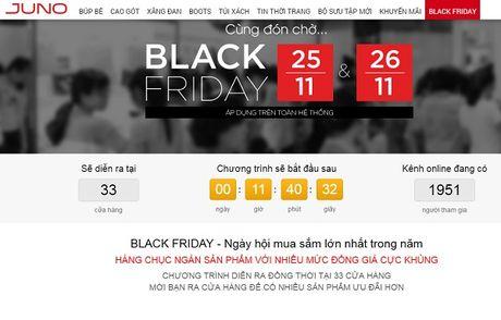 Khoi nghiep Juno ket hop Haravan ban giay online gia re vao Black Friday - Anh 1