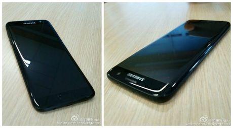 Samsung Galaxy S7 edge den bong lo anh thuc te - Anh 2