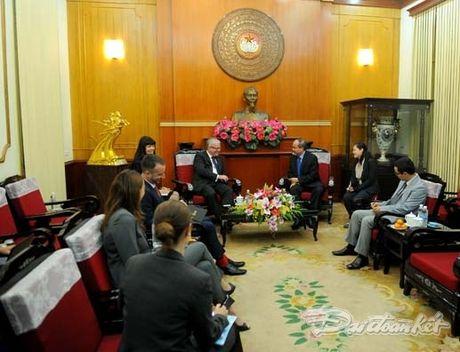 Chu tich Nguyen Thien Nhan tiep Dai su Australia - Anh 3