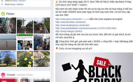 'Biet doi' san hang sale met lu vi Black Friday - Anh 1