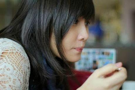 Chu tich xinh dep cua Hoi tri thuc tre Viet Nam tai Anh - Anh 1