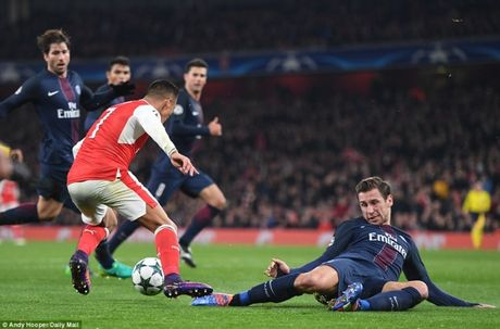 Champions League: Arsenal, PSG ruot duoi hap dan - Anh 1