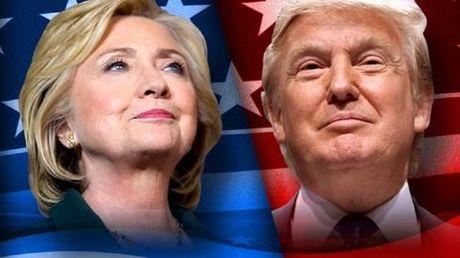 Ba Clinton cach biet ong Trump hon 2 trieu phieu pho thong nhung van thua - Anh 1