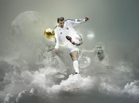 Zinedine Zidane - Cau thu vi dai cua nhung tran dau vi dai - Anh 1