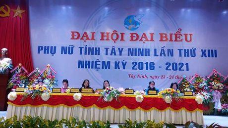 Ba Vo Thi Bach Tuyet tai dac cu Chu tich Hoi LHPN tinh Tay Ninh - Anh 1