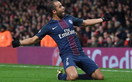 Toan canh tran cau kich tinh giua Arsenal voi PSG - Anh 12