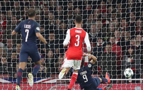 Toan canh tran cau kich tinh giua Arsenal voi PSG - Anh 3