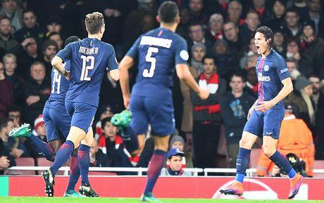 Toan canh tran cau kich tinh giua Arsenal voi PSG - Anh 4