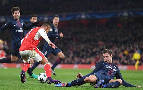 Toan canh tran cau kich tinh giua Arsenal voi PSG - Anh 5