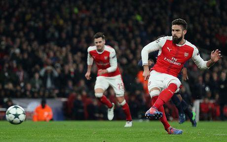 Toan canh tran cau kich tinh giua Arsenal voi PSG - Anh 6