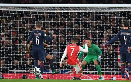 Toan canh tran cau kich tinh giua Arsenal voi PSG - Anh 9