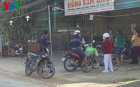 Tien Giang: Mot bao ve quan an chet chua ro nguyen nhan - Anh 1