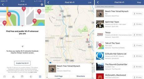 Facebook thu nghiem tinh nang do Wi-Fi... 'chua' - Anh 1